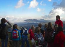 Aussicht - Klassenfahrt Herberge Bahra