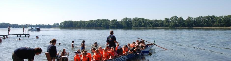 Vereinsfahrt ins Jugenddorf am Ruppiner See